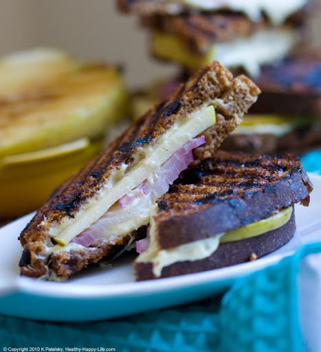 Apple Cinnamon Swirl Grilled Cheese Sandwich Recipes — Dishmaps