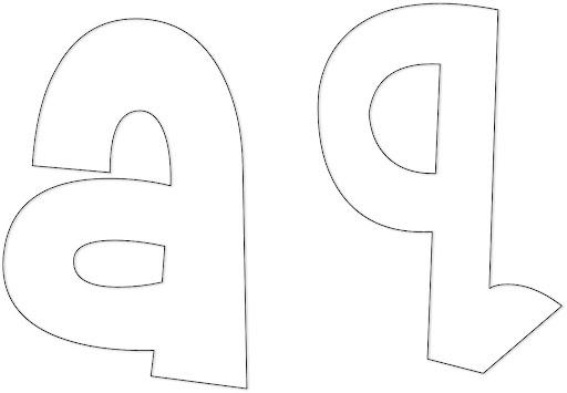 Puedes encontrar más moldes de letras para imprimir a través del ...