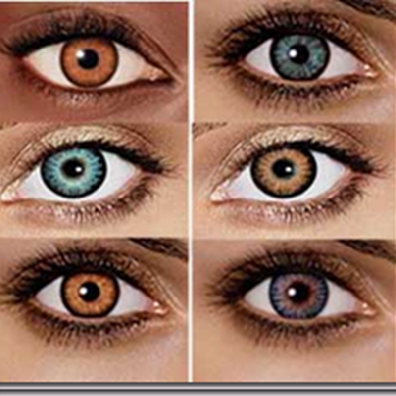 Wearing Colored Contact Lenses?