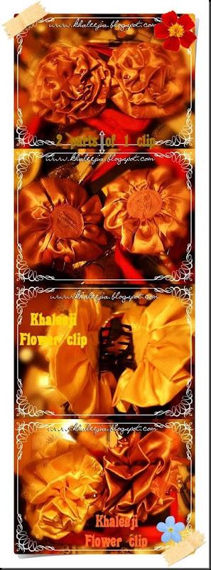khaleeji flower clip