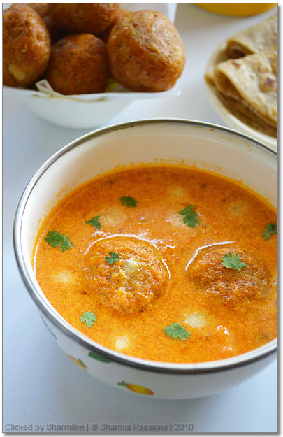 Paneer stuffed Cauliflower Kofta Recipe