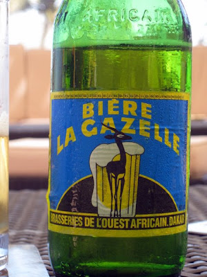 La Gazelle Beer in Senegal