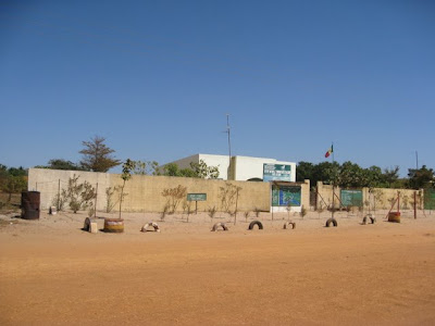 Building in Palmarin Senegal