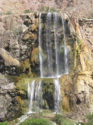 Waterfall in Ma'in Jordan