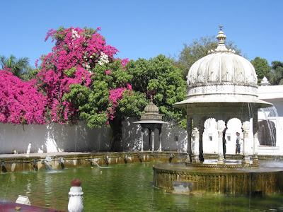 Garden of the Maids of Honor in Udaipur, Rajasthan