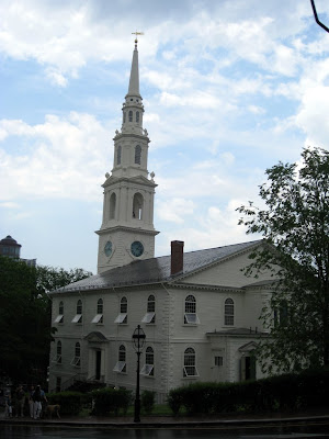 First Baptist Church in America in Providence Rhode Island