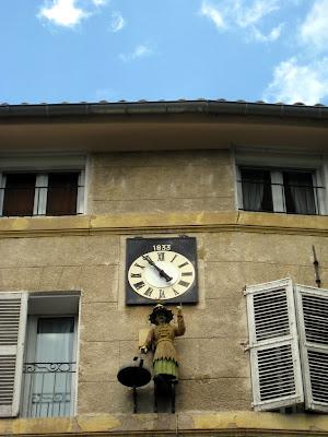 Historic building in Aix en Provence France