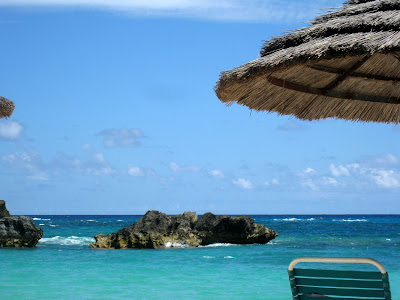 Beach at the Fairmont Hotel in Bermuda