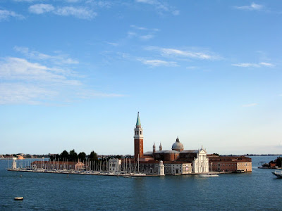 View from the roof deck of Hotel Danieli in Venice