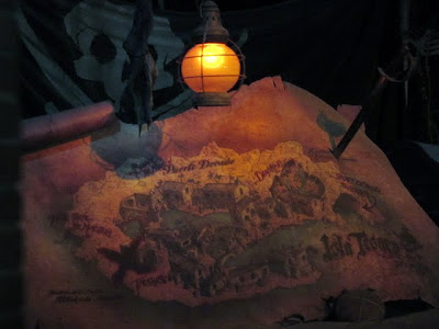 Disneyland Pirates of the Caribbean ride