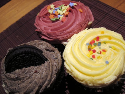 London cupcakes from the Hampstead Butcher and Providore