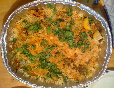Harsha's awesome Biryani