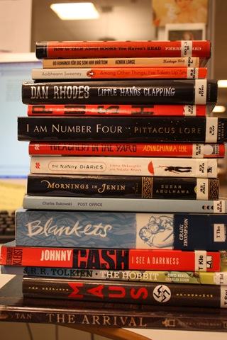 Engelskspråklige romaner og tegneserier