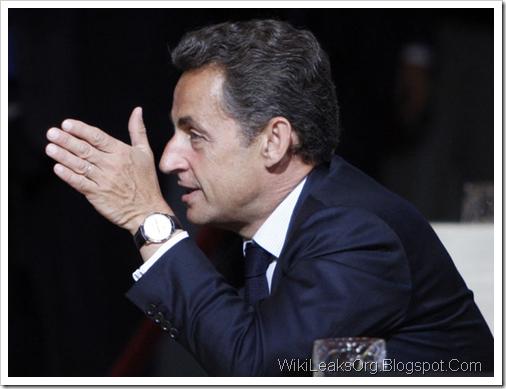 Фото Николя Саркози. Отголоски публикаций Wikileaks во Франции и Испании