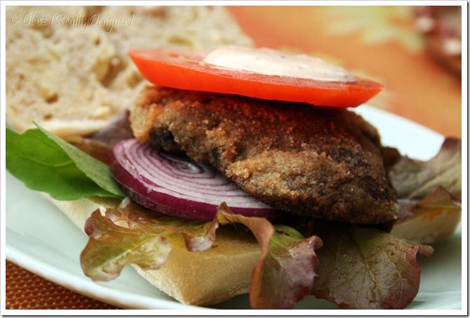 Grzybowe burgery