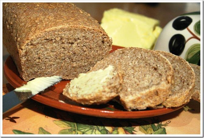 chleb owsiany z nutą orientu