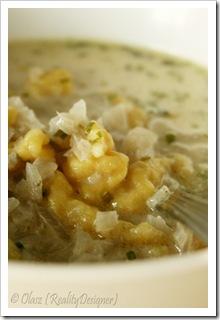 zupa cebulowa z szałwią
