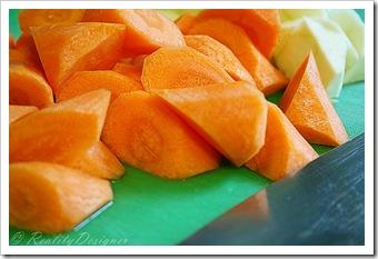 jak pokroić marchewkę