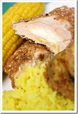 Piersi z kurczaka z serkiem łososiowym