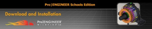 Download and use Pro/ENGINEER Wildfire (Schools Edition) for free