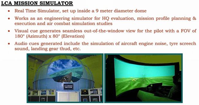 Light Combat Aircraft [LCA] Tejas simulator
