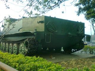 Indian Army OT-62 Topas Armoured Vehicle [Khadki, Pune]