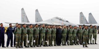 Indian Air Force Sukhoi-30 MKI Wallpaper
