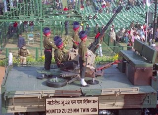 Indian Army Wallpaper [Vehicle-mounted Anti-Aircraft Gun]