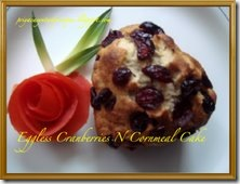 priya cranberry and cornmeal cake