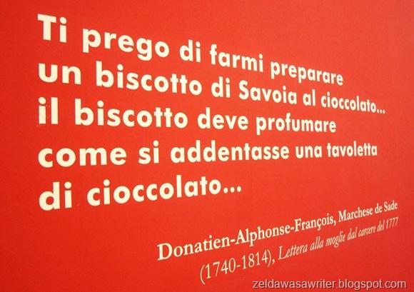 Salone del Libro di Torino, cioccolato