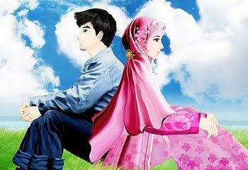 Islam Kartun Gambar Couple