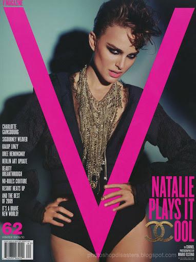 Natalie Portman Magazine PSD