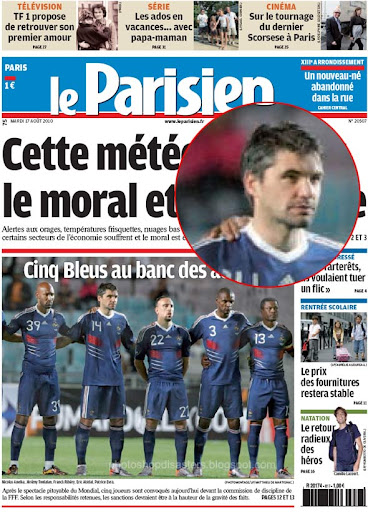 Le Parisien about French Football PSD