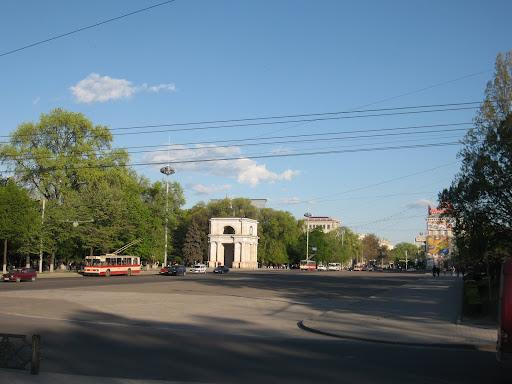 Despite being capital, Chisinau life is quite calm