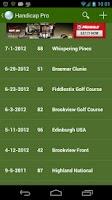 Screenshot of Handicap: Golf Tracker Pro