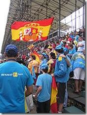 SEGUIDORES DE ALONSO EN GRAN PREMIO BRASIL 2005
