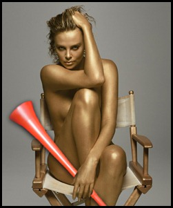 charlize o vuvuzela