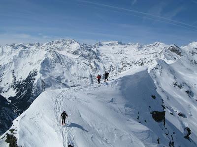 Gipfelgrat Maurerspitze