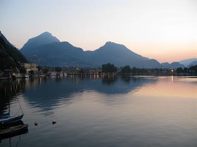 Riva bei Sonnenaufgang