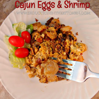 Cajun Eggs and Shrimp