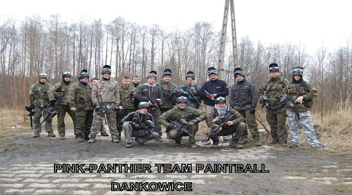 PINK-PANTHERS team paintball