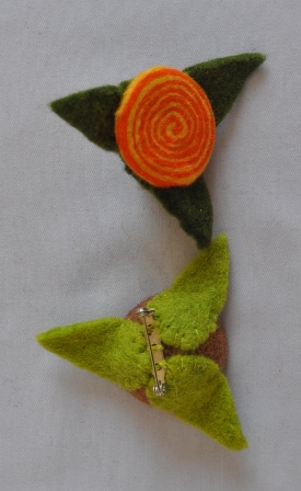 Felt Brooch