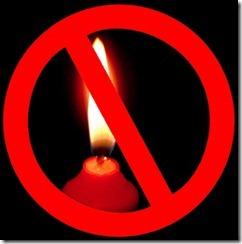 no-candles