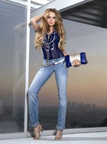 Lindsay Lohan Fornarina Ads Campaign Pictures SpringSummer 09
