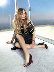 Lindsay Lohan  Fornarina Spring 2009 Ad Campaign