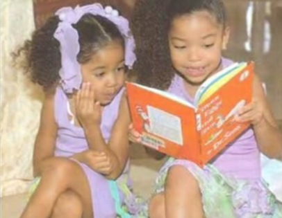Kimora Lee Simmonsdaughters Ming Lee and Aoki Leepic picture