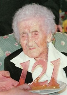 World verified oldest people French Jeanne Calment