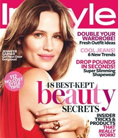 Jennifer Garner InStyle May 2009 cover photo