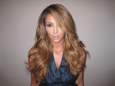 Kim Kardashian Blonde Hair Photo