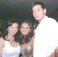 Filipino actress model Katrina Halili Dr  Kho Hayden Dr Vicki Belo picture